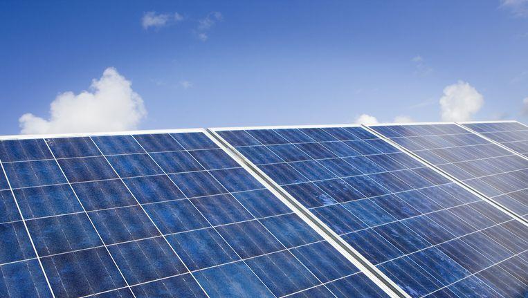 Op dit moment zijn zonnepanelen nog geen harde voorwaarde voor nieuwbouw Beeld anp