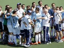 Argentijnse hockeyers naar halve eindstrijd