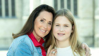 """Wendy Van Wanten stuurt dochter Estelle met bang hart terug naar school: """"Mijn schoonbroer heeft in coma gelegen door corona. We blijven dus voorzichtig"""""""