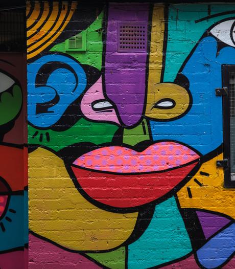 Keesomtunnel Ede krijgt makeover met  graffiti