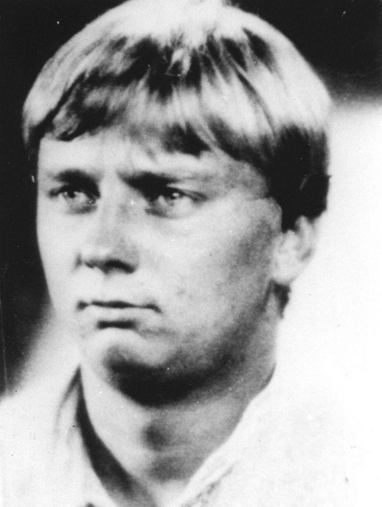 Cor van Hout in 1983. Het is onbekend wanneer hij precies met Sonja trouwde Beeld anp