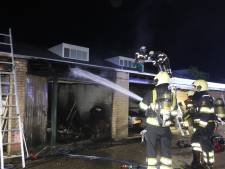 Felle brand in garagebox in Veghel, geen gewonden