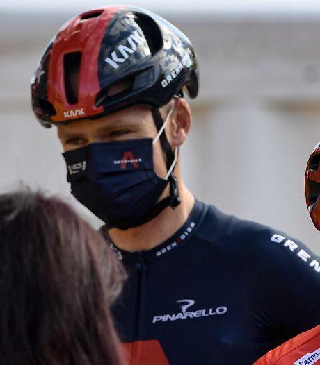 Kort rennersprotest onder aanvoering van Froome voor aanvang elfde Vuelta-etappe