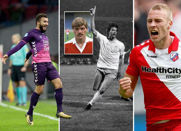 Vlnr: Zakaria Labyad, Robbie de Wit en Mike van der Hoorn. Inzet: Jan Wouters.