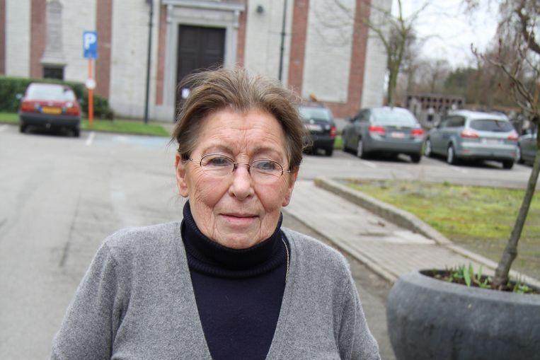 Emilienne Driesen was één van de hoofdrolspelers in de film 'De Engel van Doel'.