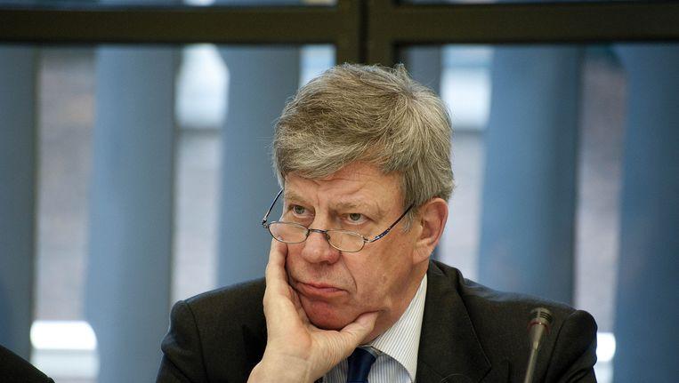 Minister Ivo Opstelten wil niet op de kandidatenlijst van de VVD voor de Tweede Kamerverkiezingen. Beeld ANP