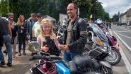 Motorrijders met een gouden hart en gulle hand verzamelen 2.000 euro voor revaliderende kompaan