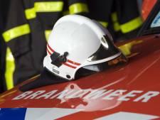 Brand in vrachtwagen Leerdam