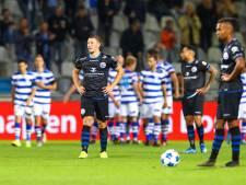 Na een uur vallen dan toch nog de klappen bij FC Den Bosch, dat het alleen met complimenten moet doen