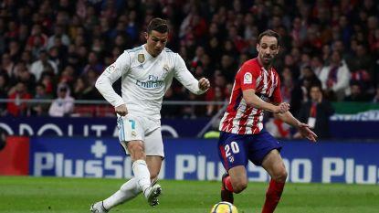 Real en Atlético schieten niets op met scoreloos gelijkspel, Barcelona lachende derde