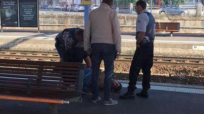 Dader aanslag stapte in Brussel-Zuid op trein