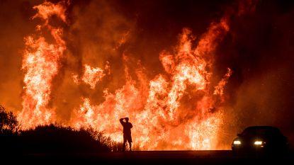 Zware natuurbranden Californië veroorzaakt door 'kapotte kabels'