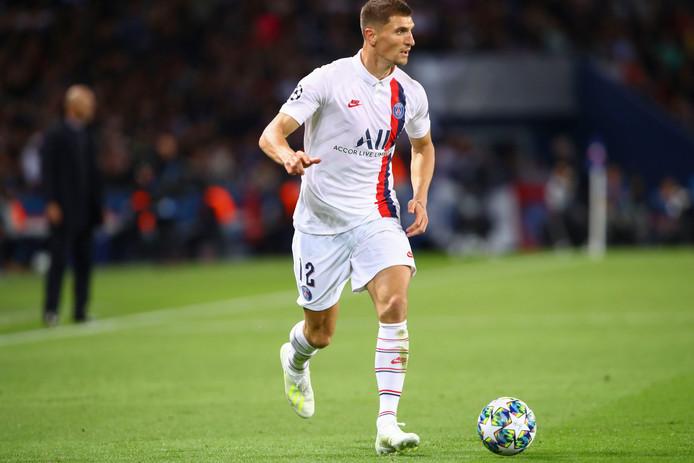 La belle prestation de Thomas Meunier contre le Real lui offre une place dans l'équipe de la semaine en Ligue des Champions.