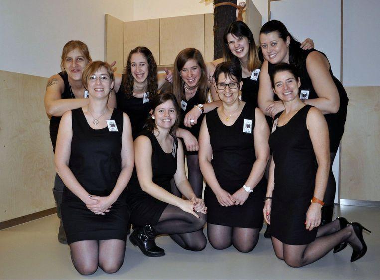 De jongedames van kinderdagverblijf Baby Biebel Box in Huldenberg zijn voorbije week verhuisd
