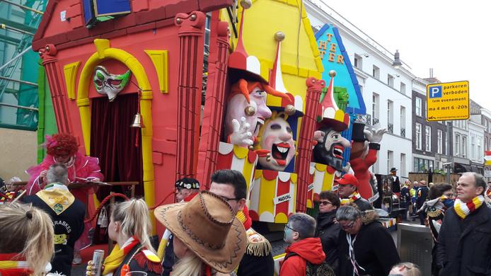 De Grote Optocht van 2019 in Oeteldonk. Den Bosch is niet alleen tijdens carnaval populair bij inwoners van West Betuwe