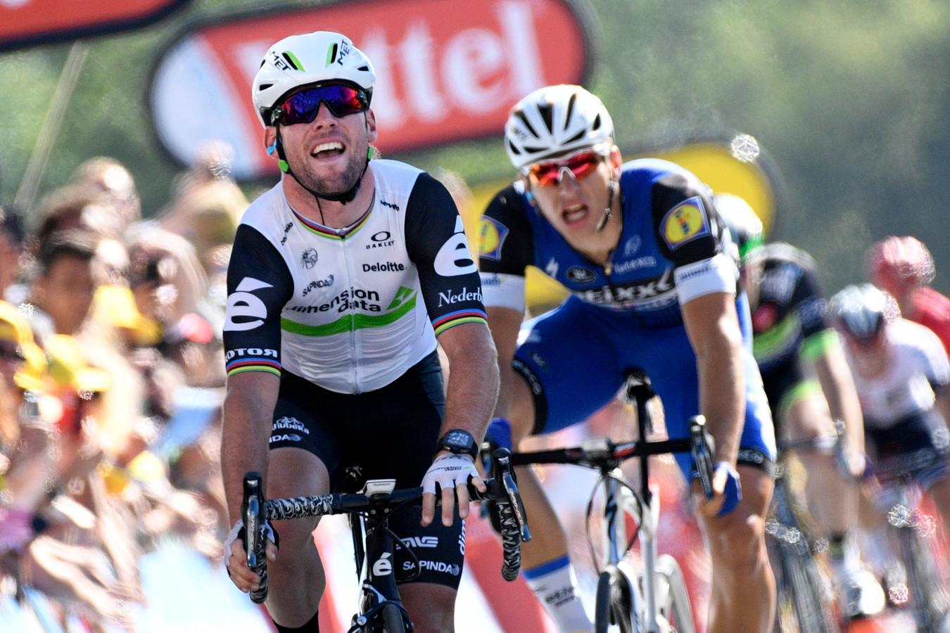 Mark Cavendish en Marcel Kittel.