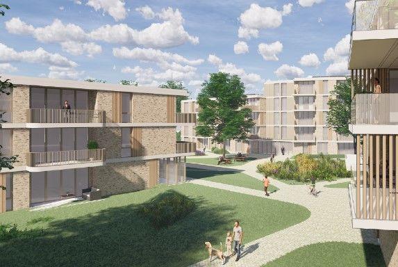 Patrimonium neemt 34 van de zeventig appartementen voor haar rekening in De Nieuwe Botter in Barendrecht. Deze appartementen zijn bestemd voor sociale huur.