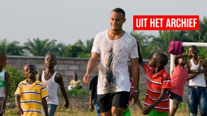 """""""Weesjes helpen is nog mooier dan matchen winnen"""": onze reporter was erbij, toen Kompany op z'n 21ste voor het eerst voet op Congolese bodem zette"""