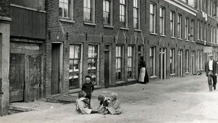 De Baarsjes in 1913 (Baarsjesweg) Beeld Spaarnestad