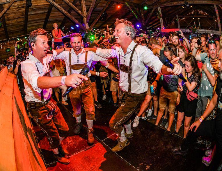 De Romeo's  in de Moose bar op Tomorrowland