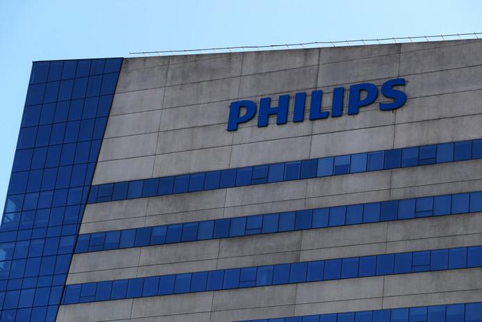 Het Philips hoofdkantoor in Sao Paulo, Brazilië.