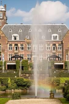 Rook in kasteel de Hooge Vuursche