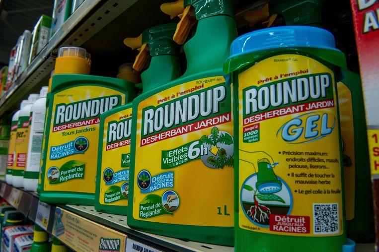 Glyfosaat is het hoofdbestanddeel van onkruidverdelgers als Roundup.