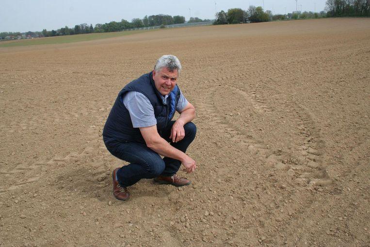 Jean-Paul Vanelderen, voorzitter van het Verbond van Vlaamse Suikerbietplanters.