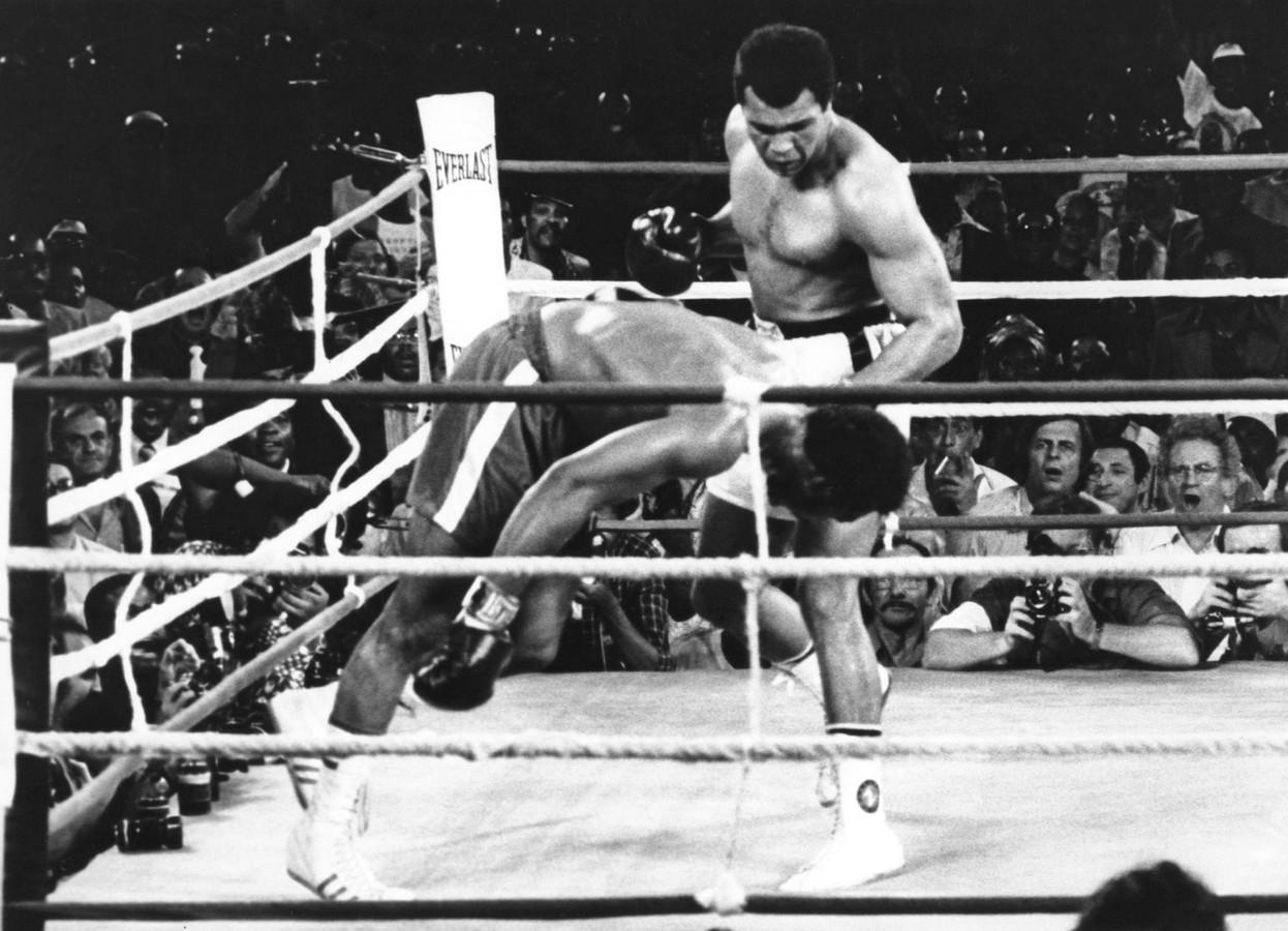 Muhammad Ali  tegen George Foreman.