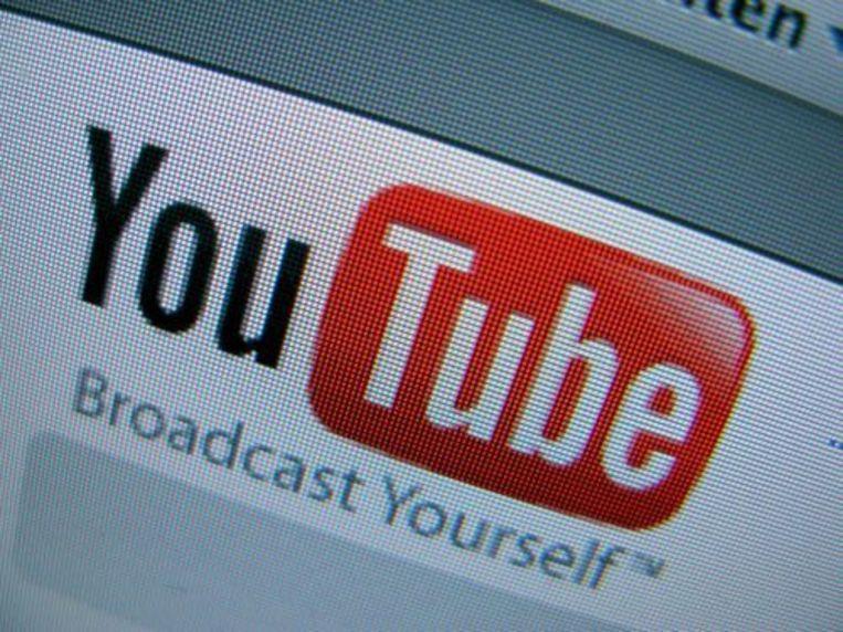 Het logo van Youtube. ANP Beeld