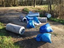 Roep om cameratoezicht in bos tegen dumpen drugsafval