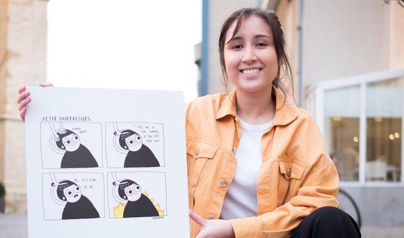 Cartooniste Chrostin aka Christina De Witte