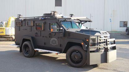 Amerikaanse BearCats voor politie