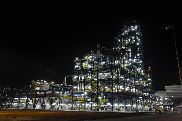 Ureum 7-fabriek van Yara Sluiskil.