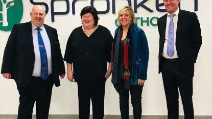 Minister van Volksgezondheid Maggie De Block geïnteresseerd in Limburgse innovaties van Spronken Orthopedie