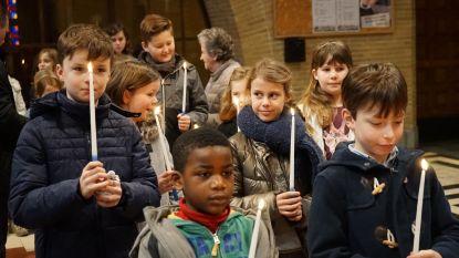 Lichtmisviering en pannenkoekenbak in Sint-Barbaracollege