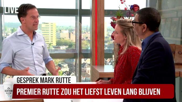Mark Rutte in de Ochtendshow To Go.