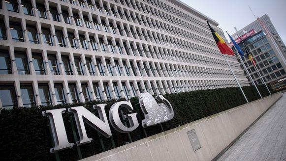 De hoofdzetel van ING in Brussel.