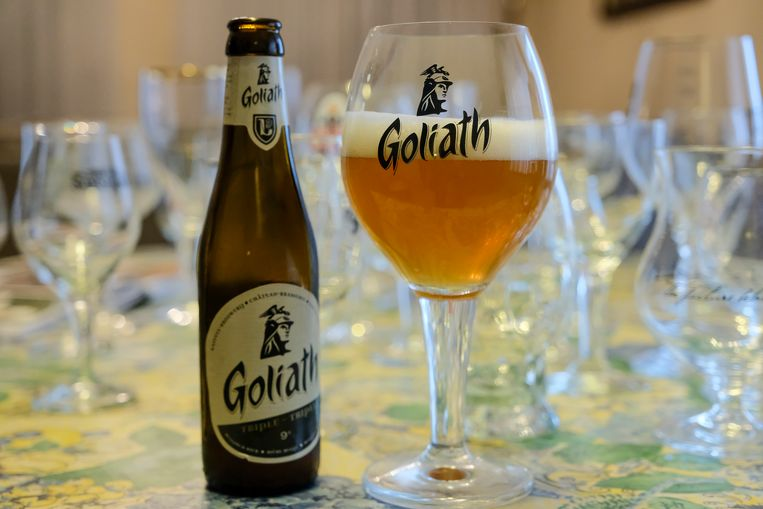 Goliath uit Ath is zijn favoriet biertje en kreeg uiteraard een 10 op 10.