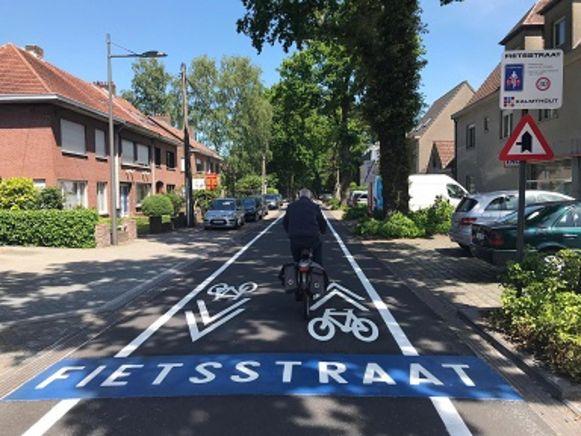 De Leopoldstraat is voortaan een fietsstraat.