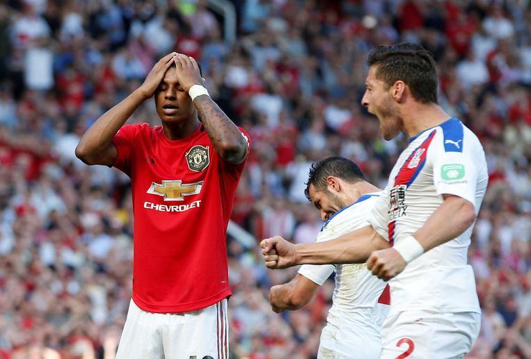 Na Pogba maandag mist nu ook Rashford een penalty voor Manchester United.
