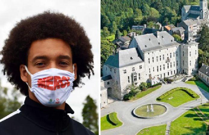 Axel Witsel a comme projet d'acheter le château de Harzé