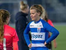 PEC Zwolle Vrouwen stort weer in en houdt Twentse titelaspiraties overeind