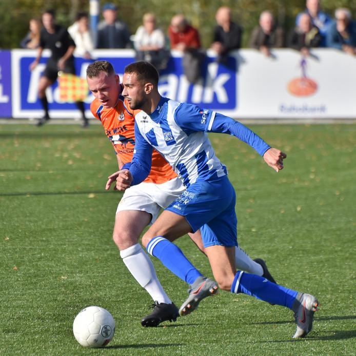 Karim Bannani had deze week last van een lichte blessure maar lijkt te kunnen spelen tegen Sparta Nijkerk.