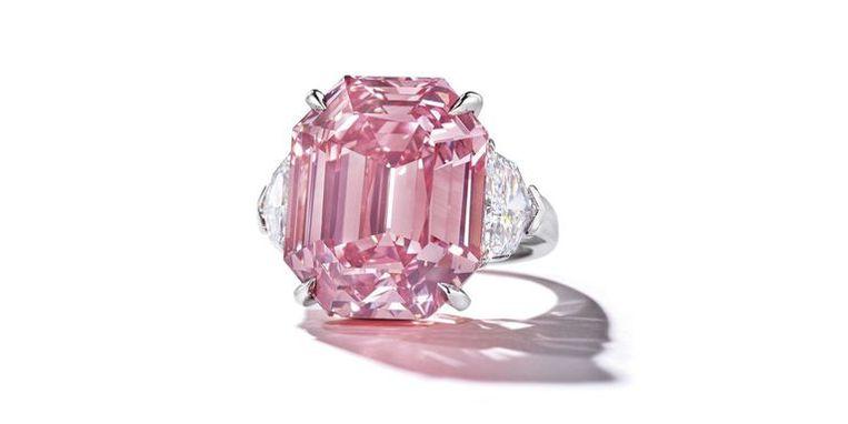 De roze diamant
