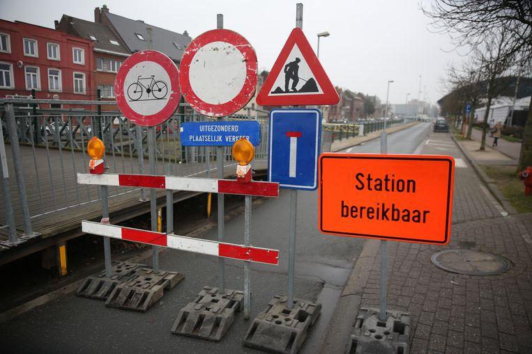 De Graankaai was in het verleden ook al afgesloten voor het verkeer.