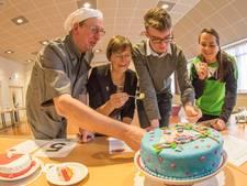 Lucia bakt de beste taart