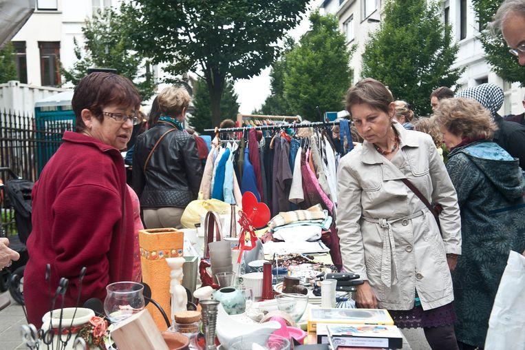 Kerkstraat plage: rommelmarkt