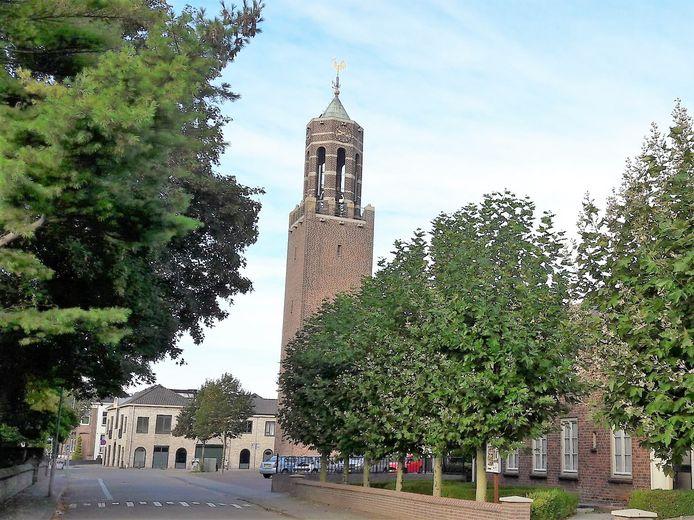 De Martinuskerk in Velddriel, een van de katholieke kerken in de Bommelerwaard van de Franciscusparochie.