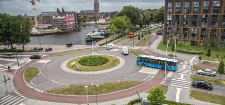 Gemeente: rotonde Pannekoekendijk gevaarlijkste verkeerspunt Zwolle